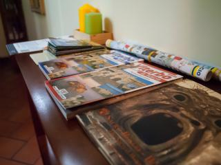 riviste, ingresso