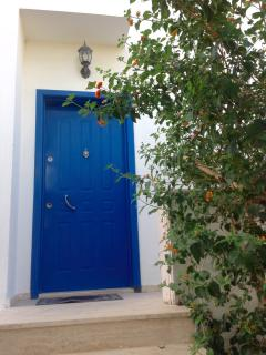 Front door of the property