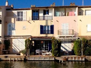 Waterfront fisherman's house with private mooring, Port Grimaud