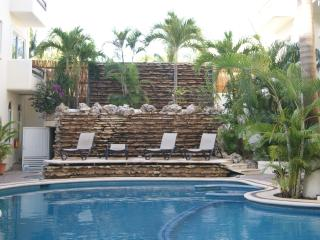 Playa Del Carmen's 12th Street -  Poolside Two Bedroom with Balcony - PK21, Playa del Carmen