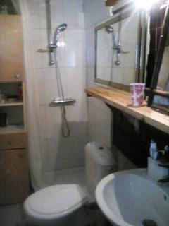 salle de bain douche et wc