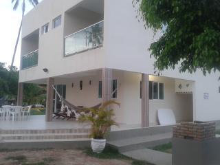 Casa 4 qts, 3 suítes-Beira Mar no melhor trecho, Praia dos Carneiros