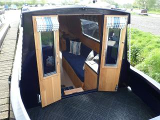 Narrowboat Maddison Private Canal Holiday Narrowboat Hire. Barge Holiday