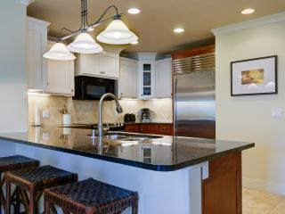 Modern kitchen, granite counter tops, ss appliances