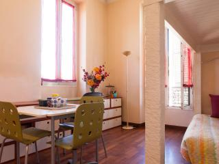 Beautiful central Nice studio Place Massena 3 minutes, sleeps 3