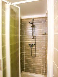 salle d'eau : la douche