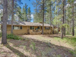 Rustic, dog-friendly cabin in the woods w/ private hot tub and game tables, Sunriver