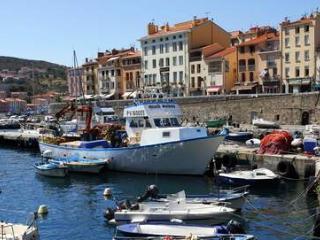 maison de vacances vue mer et port de pêche
