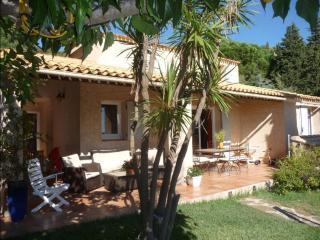 Villa provencale avec piscine vue mer proche plage