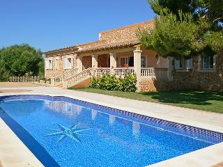 4 bedroom Villa in Cales de Mallorca, Balearic Islands, Spain : ref 5043488