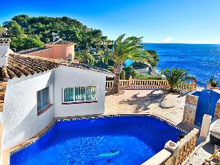 4 bedroom Villa in Moraira, Costa Blanca, Spain : ref 2008117, La Llobella