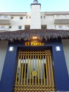 El Farito with the famous lighthouse decorating the top of the building