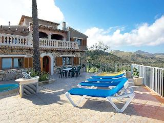 5 bedroom Villa in Cala Mesquida, Balearic Islands, Spain : ref 5043522
