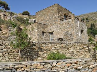 Sea view stone residence, Ormos Korthiou