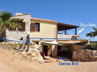 Villa Anna -2 km da Riserva Naturale dello Zingaro, Scopello