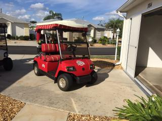 Sumter Square!  5 minute cart ride!, The Villages