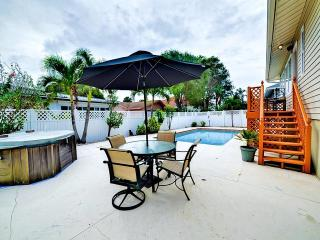 Belleair Pool Oasis   Wonderful 3 bedroom 2 bath house on Belleair Beach with heated pool.