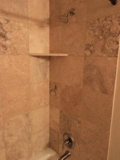 Shower in 2nd bathroom.