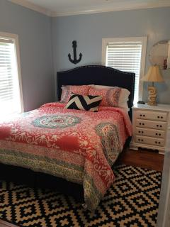 Master Suite with queen size bed, bath and laundry!