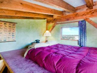 Sleeping loft in the Green Room