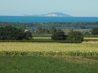 Le isole Tremiti viste dalla villa.