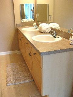 Bathroom 2 twin vanities