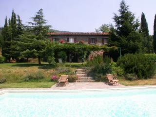 Casa Melody pool with amazing view on the valley, Cortona