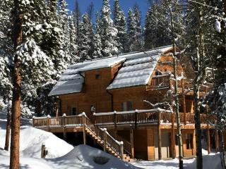 Quiet, Secluded Log Cabin Close to the Slopes