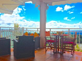 Sea view apartment, direct access to private beach, Saint Francois