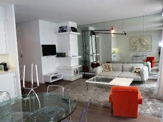 A two bedroom, two bathroom apartment in the best location possible on the main
