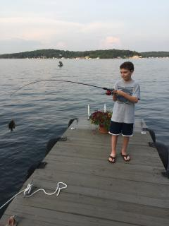 Lake Hopatcong is one of the best fresh water fisheries in the North East US