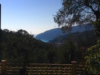 casa vacanze 1,5 km dal mare in uliveto vista mare, Moneglia