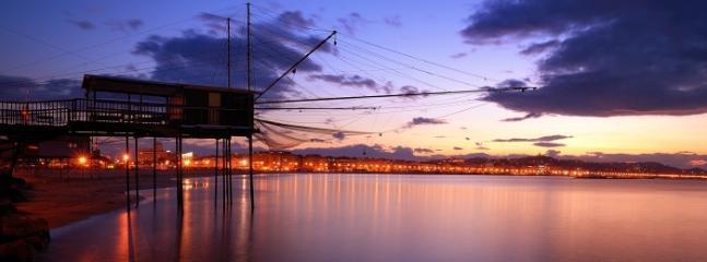 Trabocco di Pescata al tramonto (5km dal nostro B&B)