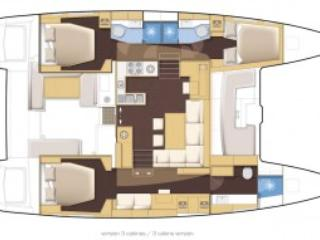 3 or 4 cabin layouts available on request.