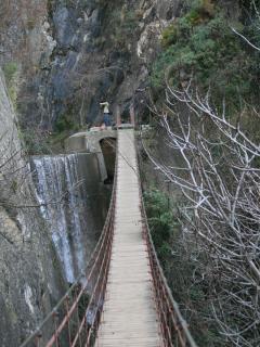 Ruta de senderismo Cahorros, se sale desde Monachil.