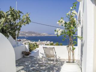 Overlooking Mykonos amazing view!