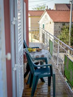 Balcony of the apartment.