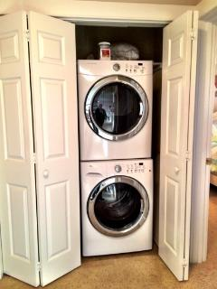 Washer and Dryer for your private use
