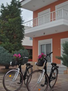 Villa Imerti - We provide you with 5 bicycles to explore Gennadi and Kiotari village.