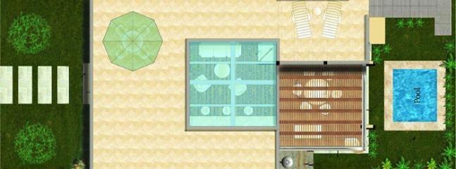 Floorplan roof deck
