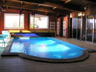 Gite Regisland Orchidee Alsace, piscine interieure, 15 pers