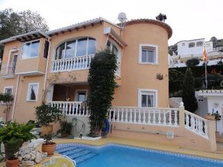 Large panoramic terrace with swimming pool, Pedreguer