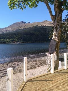 The Cobler, Arrochar from the deck !