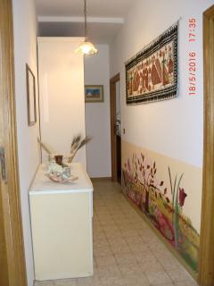 corridoio d'ingresso alla camera