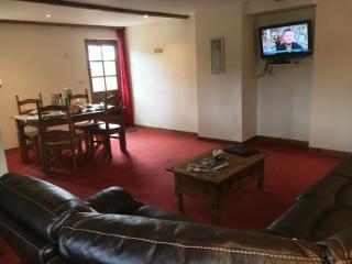 Front door into lounge