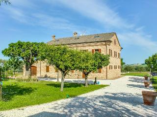 Views of orchard & olive grove, access to seasonal shared pool/hot tub!, Senigallia