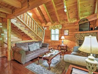 You'll love the cozy feel of the cabin's interior.