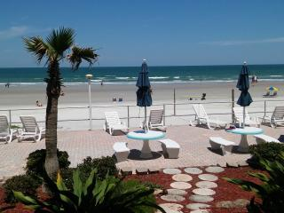 Ocean Front on the No Drive Beach First Floor, Daytona Beach