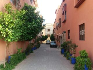 Charming Apartment with Inner Roofless Courtyard, Marrakech