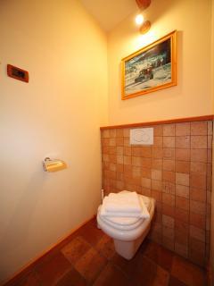 Bathroom 2/Toilet on a ground floor